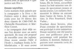 """""""Que Justice soit Fête"""" école / mars 2014"""
