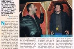 """""""Que Justice soit Fête"""" création à Poitiers / mars 2013"""