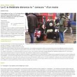 La C ie th+®+ótrale d+®nonce la censure d'un maire - 09_06_2017 - La Nouvelle R+®publique Vienne-1